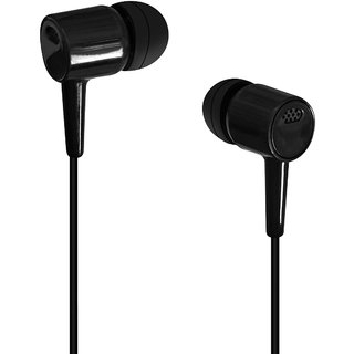 KSJ High Bass Earphone Black