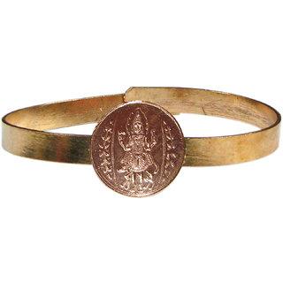 Bhairava Kalabairav Adjustable Copper Bangle Bracelet Kalabhairava Kankanam - A3028-03