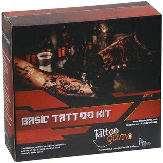 Basic Permanent body tattoo making machine kit for beginners  Students,