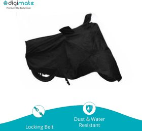 Digimate Bike body cover Perfect fit for Yamaha Fz 16 - Colour Black