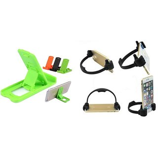 Pack of two Small stand and one Ok Stand (Assorted Colors)