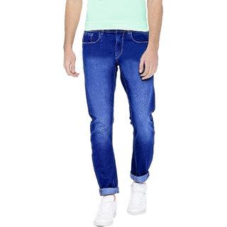 Spain Style Men's Slim Fit Blue Jeans