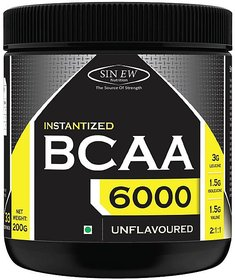 Sinew Nutrition Instantized 211, 0.44lb BCAA (200 g, Unflavored)
