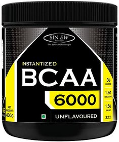 Sinew Nutrition Instantized 211, 400gm/0.88lb (Unflavoured) BCAA (400 g, Unflavored)