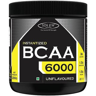 Sinew Nutrition Instantized 2:1:1, 0.44lb BCAA (200 g, Unflavored)