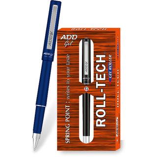 ADD GEL Roll Tech Gel Pen  -  Black Set of 3