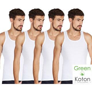 Green Koton - Maxi mens vest pack of 4