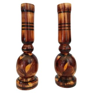 Royals Wooden Flower Vase
