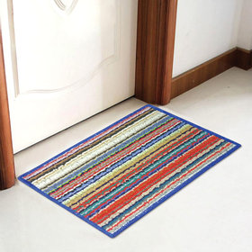 Colorful Door Mat with Anti-Skid backing - 15 Inches 23 Inches