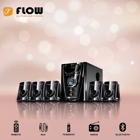 Flow Flash 5.1 Channels Bluetooth Home Theater System/Speaker System