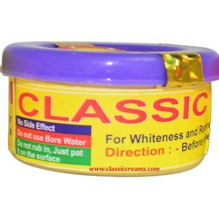 Classic White Cream Pack of 1