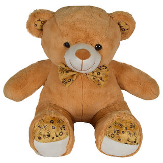 Ultra Polka Teddy Soft Toy 24 Inches-Brown