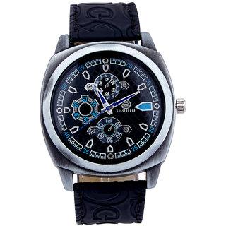 Shostopper Splended Navy Blue Dial Analogue Watch For Men - SJ60013WM