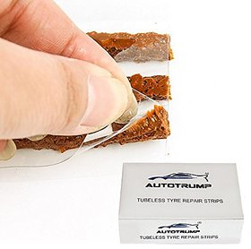 AUTOTRUMP Tubeless Tyre Puncture Repair Strip (30 pieces)