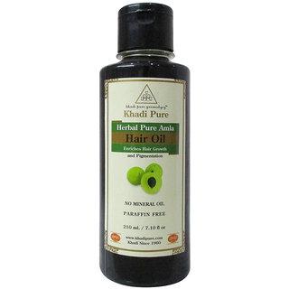 Khadi Pure Herbal Pure Amla Hair Oil - 210ml