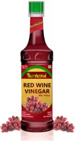 NutrActive Red Wine Vinegar with Mother of Vinegar - 500 ml