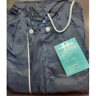 aa2c7c465 ONLY ONE Mens Reversible Black Raincoat (Only XL Size,Paint 38 Inches,Shirt  28 Inches)