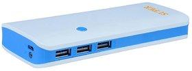 Hobins P3 fast charging 20000 mah power bank (white,blue)