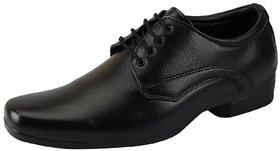 Vitoria Black Lace-up Smart Formals Shoes For Men