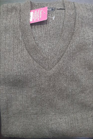 Mens Light-Weight V-neck Full Sleeve Sweater  (Only XL Size)