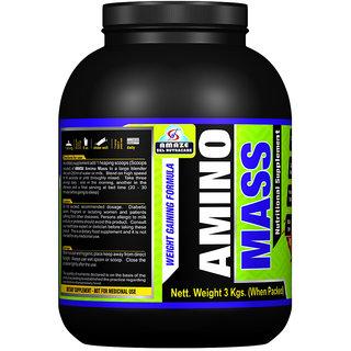Amaze Amino Mass 3 Kgs. (Chocolate Flavour)
