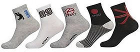 DDH Ankle Socks Set of 5 pairs