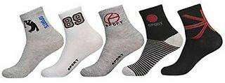 Delhi Deals Hub Ankle Socks Pack of 5
