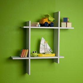 New Look Stylish Plus Style White Shelves