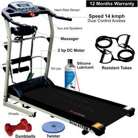 Healthgenie 7in1 Motorized Treadmill 4112M (2.0 HP)