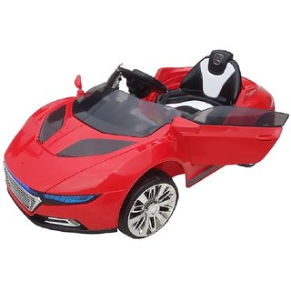 Oh Baby Battery Operated Audi Car Red Color With Remote Control And Mobile Music Connectivity For Your Kids SE-BOC-08