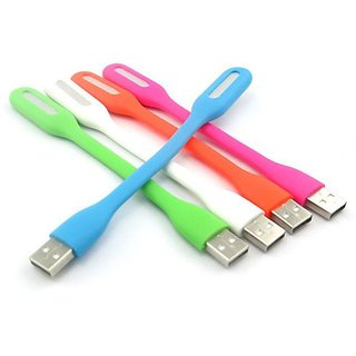 Flexible USB LED Light (Assorted Colors) by KSJ Accessories