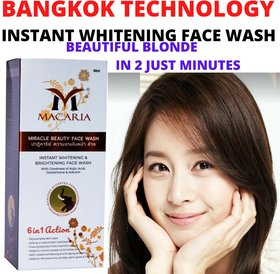 Instant Whitening Face Wash