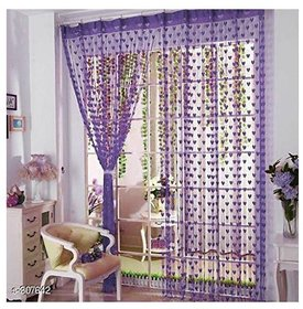 Angel homes polyester Abstract set of 2 Door Curtains
