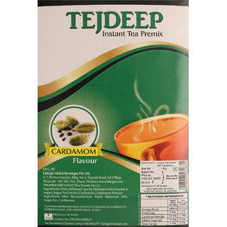 Tejdeep Cardamom Elaichi Flavour Instant Tea Premix 1kg|Tea premix for vending machine|Ready to drink tea