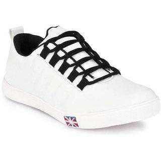 Buy Lejano Casual White Sneaker Shoes