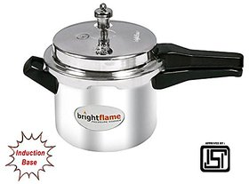 brightflame Pressure Cooker Stainless Steel 3 Ltr Outer Lid