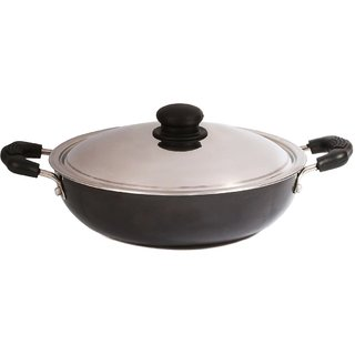 BrightFlame Non-Stick Kadai Medium