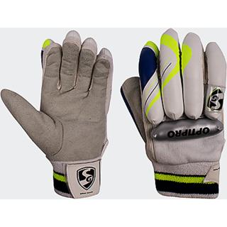 SG Optipro cricket batting gloves size boys