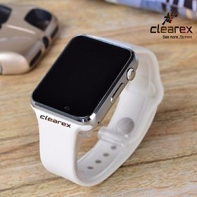 Clearex White sport band smartwatch