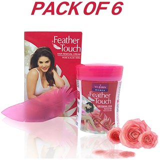Hair Removal Cream Rose (Set of 6)