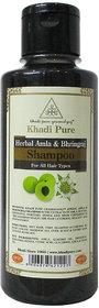 Khadi Pure Herbal Amla  Bhringraj Shampoo - 210ml