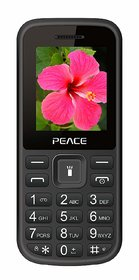PEACE P1 FEATURE MOBILE PHONE WITH  FM RADIO
