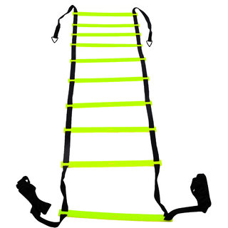 Grazzo Agility Ladder Speed Training Equipment For High Intensity Footwork, Acceleration Training, with Carry bag