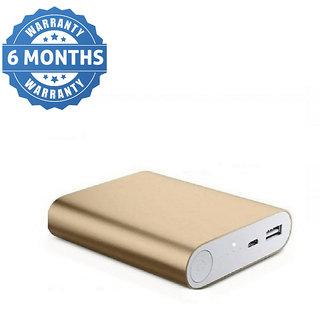Hobins Metal Fast Charging 10400 Mah Power Bank (Gold)