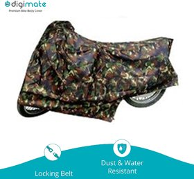 Digimate Dustproof Bike body cover for bike and scooties- Colour Jungle