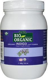 Indus Valley Bio Organic Indigo Powder Jar 400 G