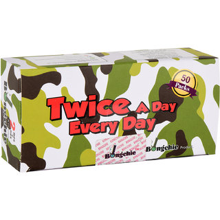 Bongchie / Twice a day everyday / bleached / 2 rips + 2 tips / camouflage
