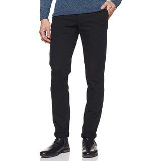 CULTURE (P.J.C.) BLACK NERROW FIT Trousers For Men