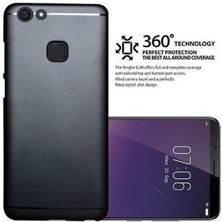 huge discount c95a5 45eb9 ECellStreet 360 Degree Protection Soft Back Cover For Vivo V7 Plus / V7 +  (Black)