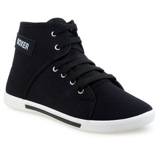 Black Casual Shoes By Birde